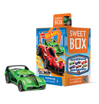 Кукла (свит-бокс) 12бл*10шт Машинки HOT WHEELS-2